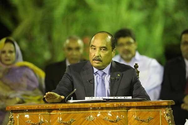ولد عبدالعزيز في آخر مؤتمر صحافي له كرئيس