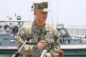 الضابط في القيادة الوسطى للقوات البحرية الأميركية شان كيدو