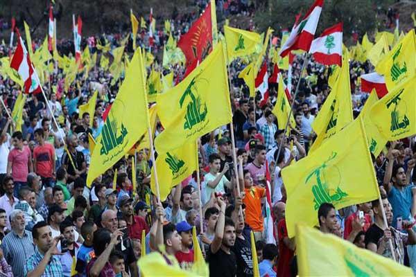 إحدى التظاهرات لمناصري حزب الله في لبنان