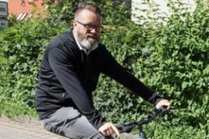 رجل الأعمال الدنماركي كلاوس روهي مادسن في روستوك الألمانية في 16 حزيران/يونيو 2019