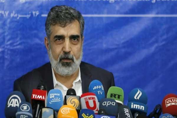 الناطق باسم المنظمة الإيرانية للطاقة الذرية بهروز كمالوندي