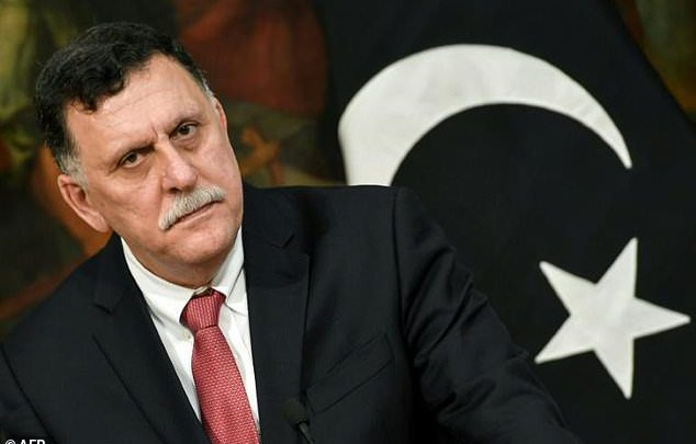 رئيس حكومة الوفاق الليبية، فايز السراج