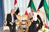 أمير الكويت في بغداد لتطوير التعاون الأمني والتجاري