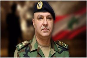 قائد الجيش اللبناني العماد جوزف عون