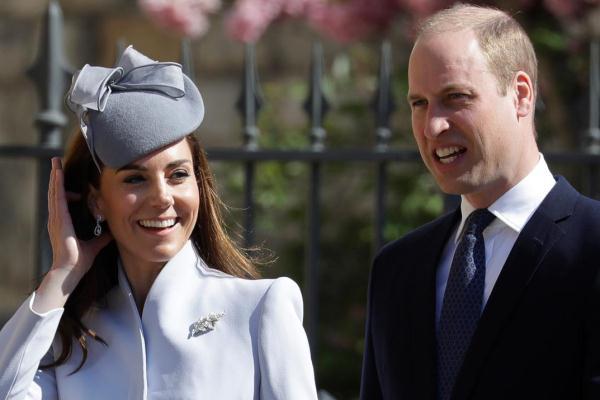 الأمير وليام دوق كامبريدج وزوجته كيت دوقة كامبريدج