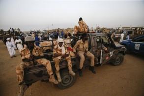 عناصر من قوات الدعم السريع في الخرطوم