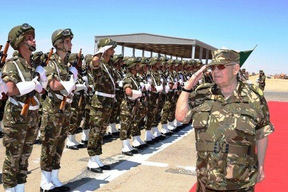 رئيس أركان الجيش الجزائري الفريق أحمد قايد صالح - صورة لـ