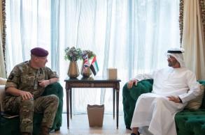 محادثات عسكرية إماراتية بريطانية