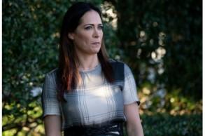 ستيفاني غريشام في حديقة البيت الأبيض في 21 يونيو 2019
