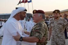 عبدالله الثاني: سنظل مع الإمارات كتفا لكتف