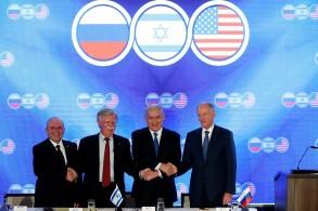 نتانياهو يلتقي اركان الاجتماع الامني االأميركي الروسي الاسرائيلي