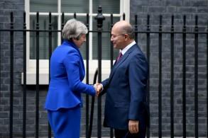 تيريزا ماي تستقبل الرئيس العراقي في لندن