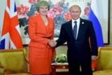 بوتين يلتقي تيريزا ماي