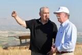 إسرائيل باقية في غور الأردن لأمنها!