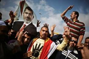 من أحد التحركات الموالية للإخوان المسلمين في مصر