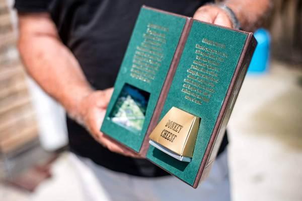 سعر الكيلوغرام الواحد لجبن الحمير يبلغ ألف يورو