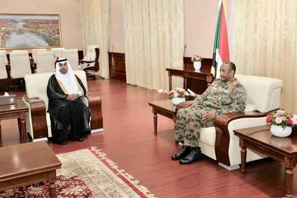 زيارة البرلمان العربي الى السودان