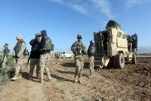 عسكريون أميركيون في العراق