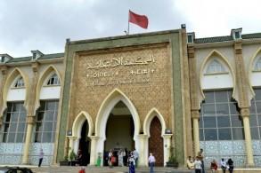 محكمة سلا حيث يحاكم المتهمين بقتل سائحتين اسكندينافيتين في المغرب في 27 يونيو 2019