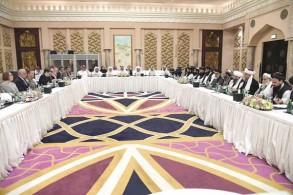 جولة محادثات سلام سابقة بين أميركا و«طالبان» في الدوحة