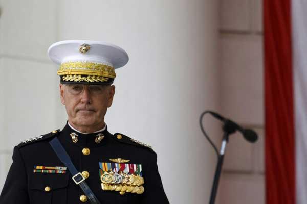رئيس هيئة الأركان الأميركية المشتركة الجنرال جوزف دانفورد