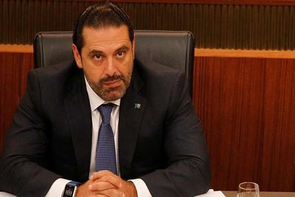 رئيس الحكومة اللبنانية سعد الحريري