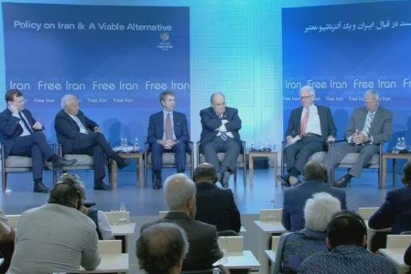شخصيات دولية في مؤتمر المعارضة الإيرانية في ألبانيا