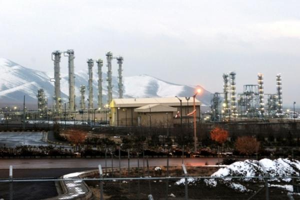 صورة أرشيفية لمفاعل أراك الذي يعمل بالمياه الثقيلة جنوب شرق طهران