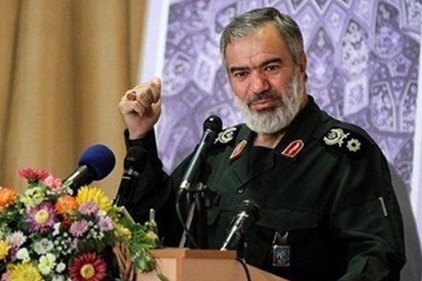 الاميرال علي فدوي نائب قائد الحرس الثوري في إيران