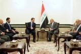 بارزاني للرؤساء العراقيين: مستعدون لحل المشاكل العالقة