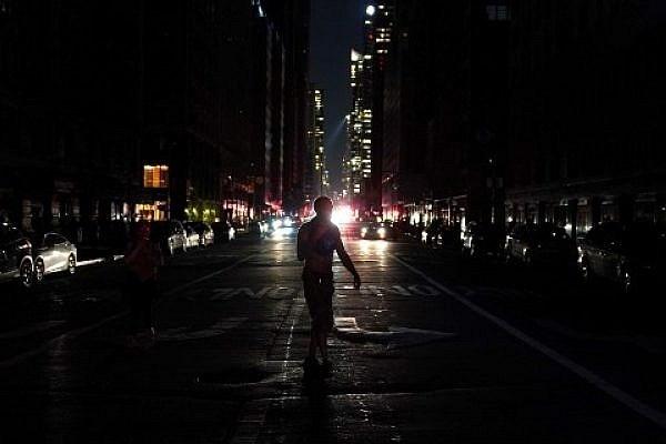انقطاع الكهرباء في نيويورك