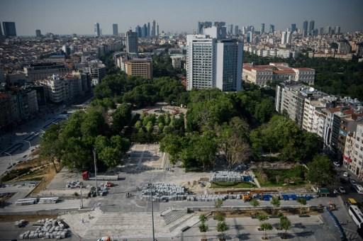 مشهد عام من مدينة اسطنبول