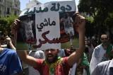الجزائريون يتظاهرون من جديد