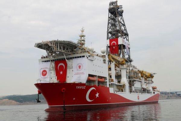 سفينة تنقيب تركية قبالة سواحل قبرص