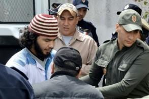 احد المتهمين بقتل سائحتين اجنبيتين في المغرب يصل الى محكمة سلا في الثاني من مايو 2019