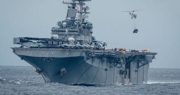 المدمرة يو اس اس بوكسر (صورة أرشيفية من البحرية الأميركية)