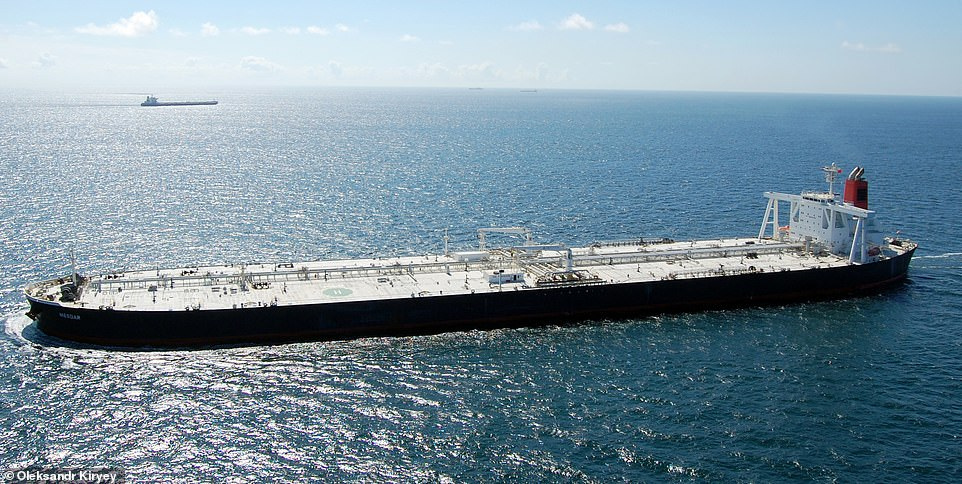 الناقلة (مسدار) تعود لمسارها في مياه الخليج