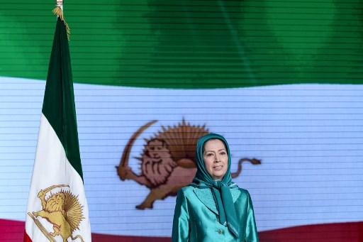 رئيسة المجلس الوطني للمقاومة الايرانية مريم رجوي