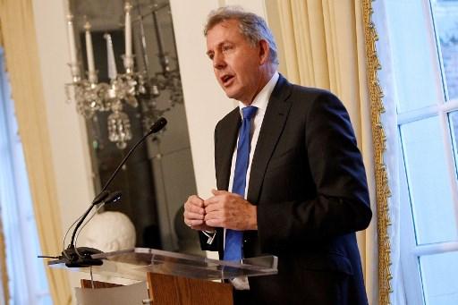 السفير البريطاني كيم داروش