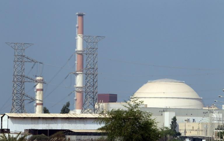 جانب من مفاعل بوشهر النووي في جنوب إيران في 20 أغسطس 2010