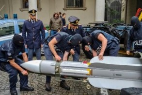 قطر: الصاروخ الذي ضُبط في ايطاليا بيع الى بلد ثالث عام 1994