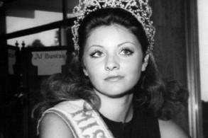 جورجينا زرق بعد حصولها على لقب ملكة جمال الكون