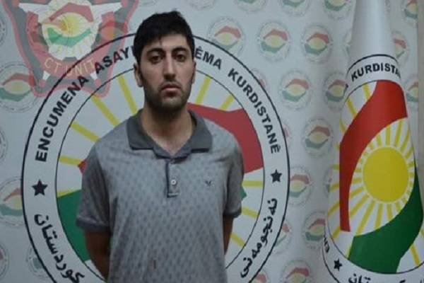 مظلوم داغ قاتل نائب القنصل التركي بأربيل في قبضة الامن الكردي