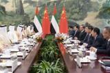 محمد بن زايد: نتطلع إلى دور صيني فاعل في إقرار السلام في الشرق الأوسط