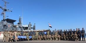 تدريبات مصرية إماراتية أميركية في البحر الأحمر
