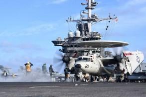مدمرة أميركية في الخليج (صورة من البحرية الأميركية)