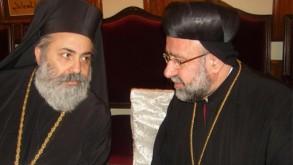 المطرانان المخطوفان مارغريغوريوس يوحنا إبراهيم وبولس يازجي
