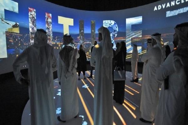 تم عرض مشروع منطقة التنمية المستقبلية نيوم في الرياض يوم الثلاثاء 24 تشرين الأول/أكتوبر 2017 أ ف ب