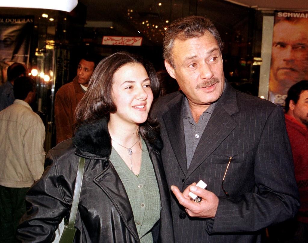 الفيشاوي مع دنيا سمير غانم