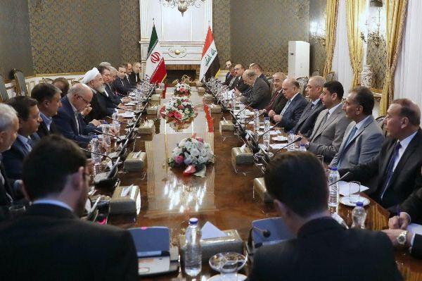 المباحثات الرسمية العراقية الإيرانية برئاسة عبد المهدي وروحاني في طهران اليوم